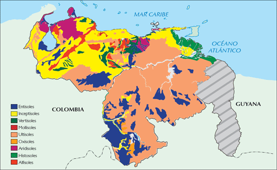 Tipos de Suelos en Venezuela