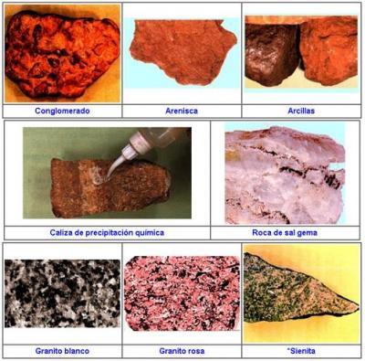 Formas de las Rocas