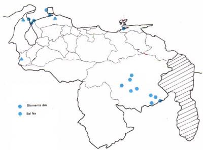 Diamantes y Sal, los cristales de Venezuela